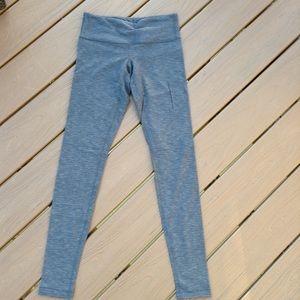 LULULEMON textured gray wunder under pants 4